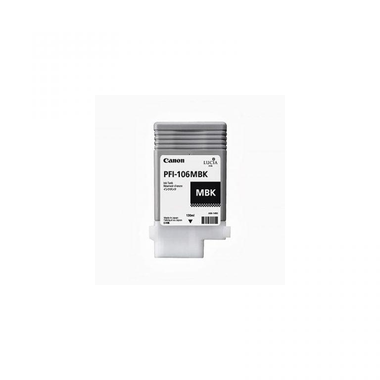 Noir Mat (MBK) pour Canon iPF 6xx0/6x00S - 130mL