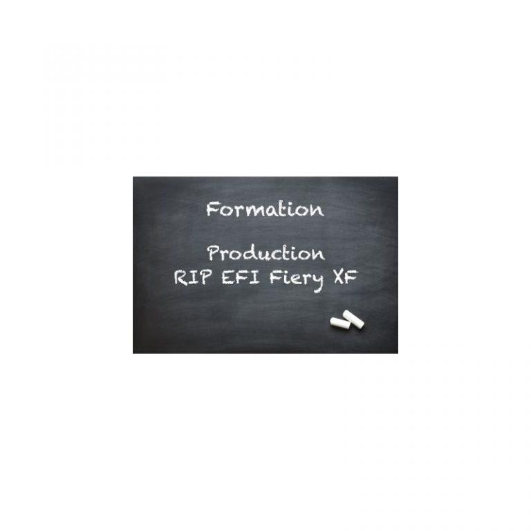 Production avec un RIP EFI Fiery XF